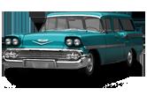 Chevrolet Brookwood Wagon 1958