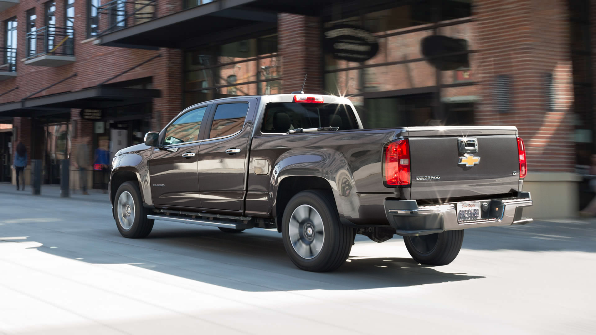 Chevrolet Colorado ShortCab Truck 2015