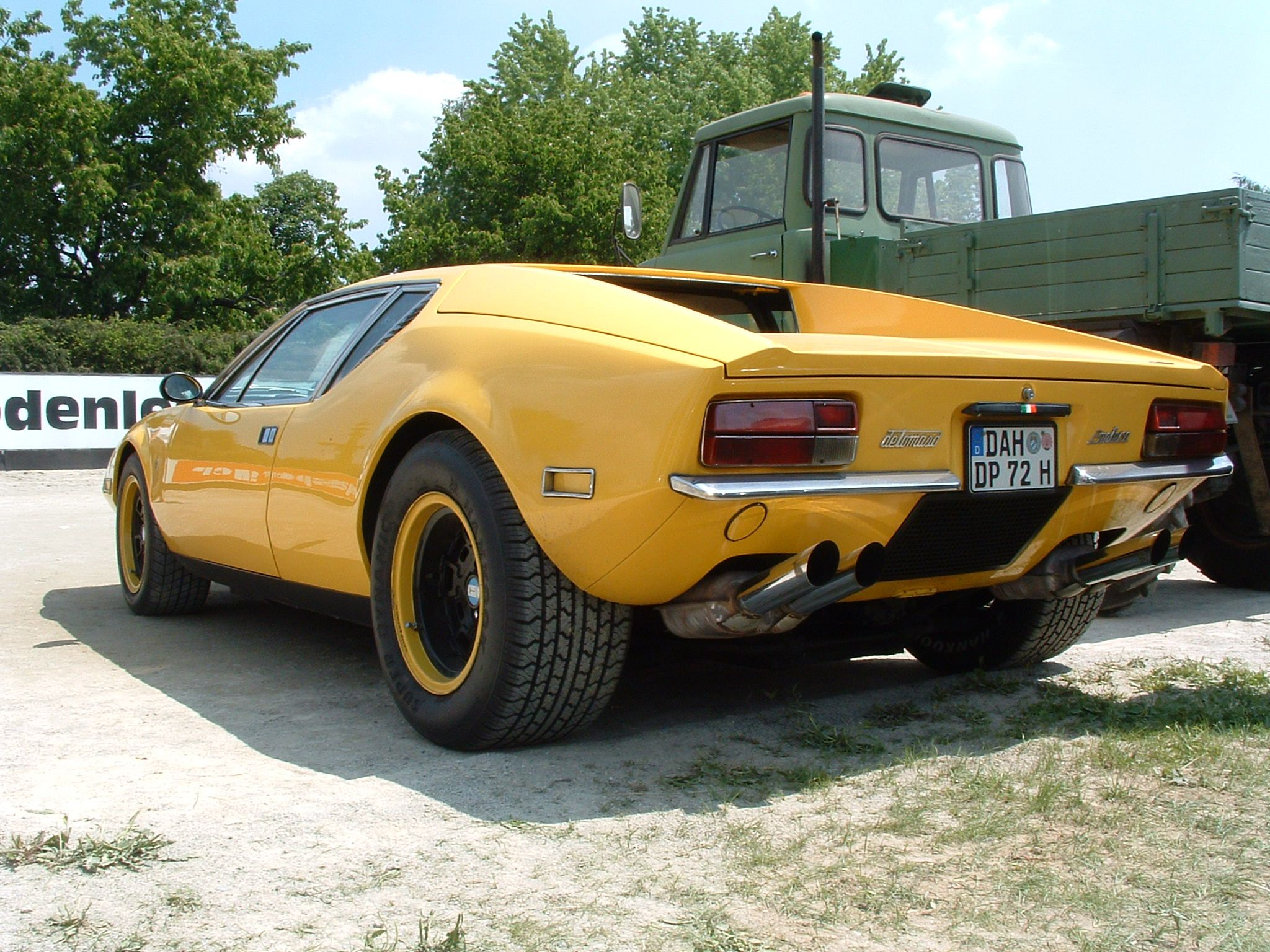 My perfect De Tomaso Pantera. 3DTuning - probably the best car ...