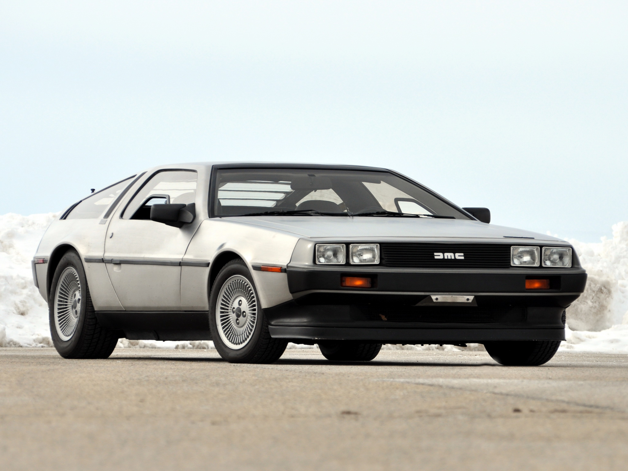 Delorean dmc 12 coupe 1981