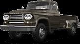 Dodge Power Wagon W300 2 Door pickup truck 1958