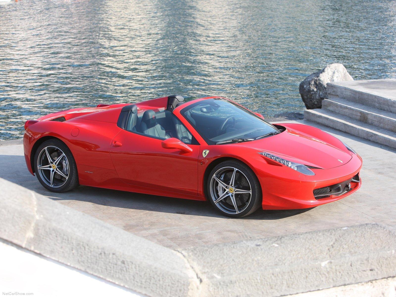 Ferrari 458 Cabrio Idee D Image De Voiture