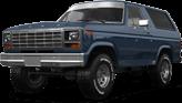 Ford Bronco 3 Door SUV 1980