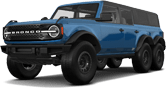 Ford Bronco 6X6 4 Door pickup truck 2021