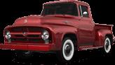 Ford F-100 2 Door truck 1956