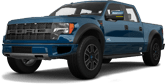 Ford F-150 SVT Raptor 4 Door pickup truck 2013