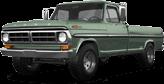 Ford F-250 2 Door pickup truck 1971
