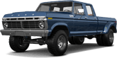 Ford F-350 Dually 4 Door pickup truck 1973