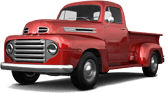 Ford F1 2 Door pickup truck 1949