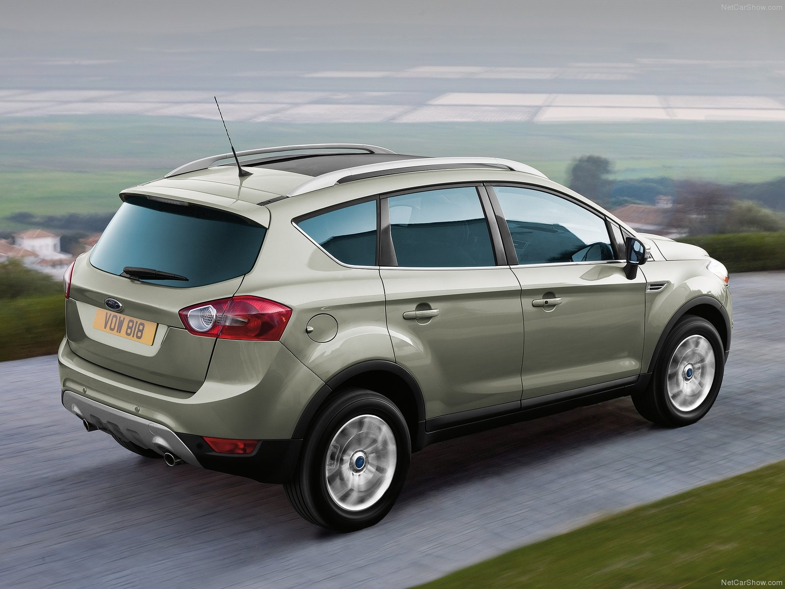 3dtuning of ford kuga crossover 2008 unique