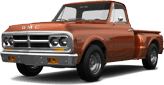 GMC K1500 2 Door pickup truck 1971