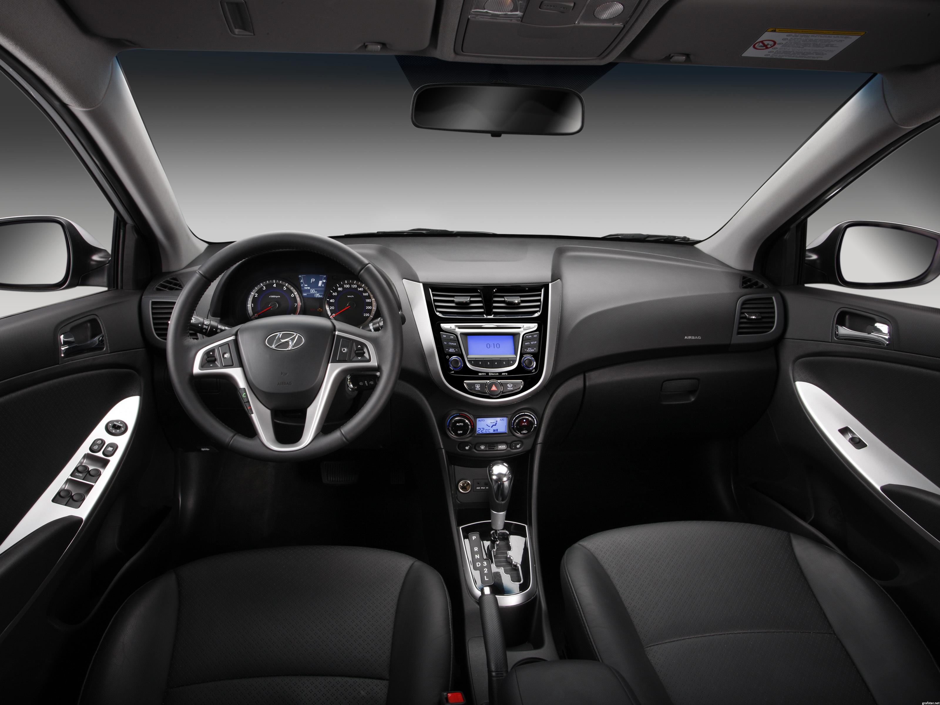 3dtuning Of Hyundai Solaris Sedan 2011 3dtuning Com