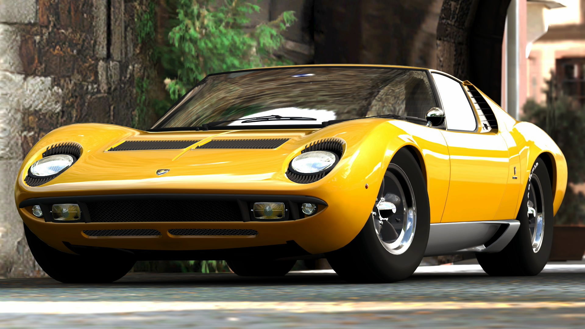 3dtuning Of Lamborghini Miura Coupe 1966 3dtuning Com