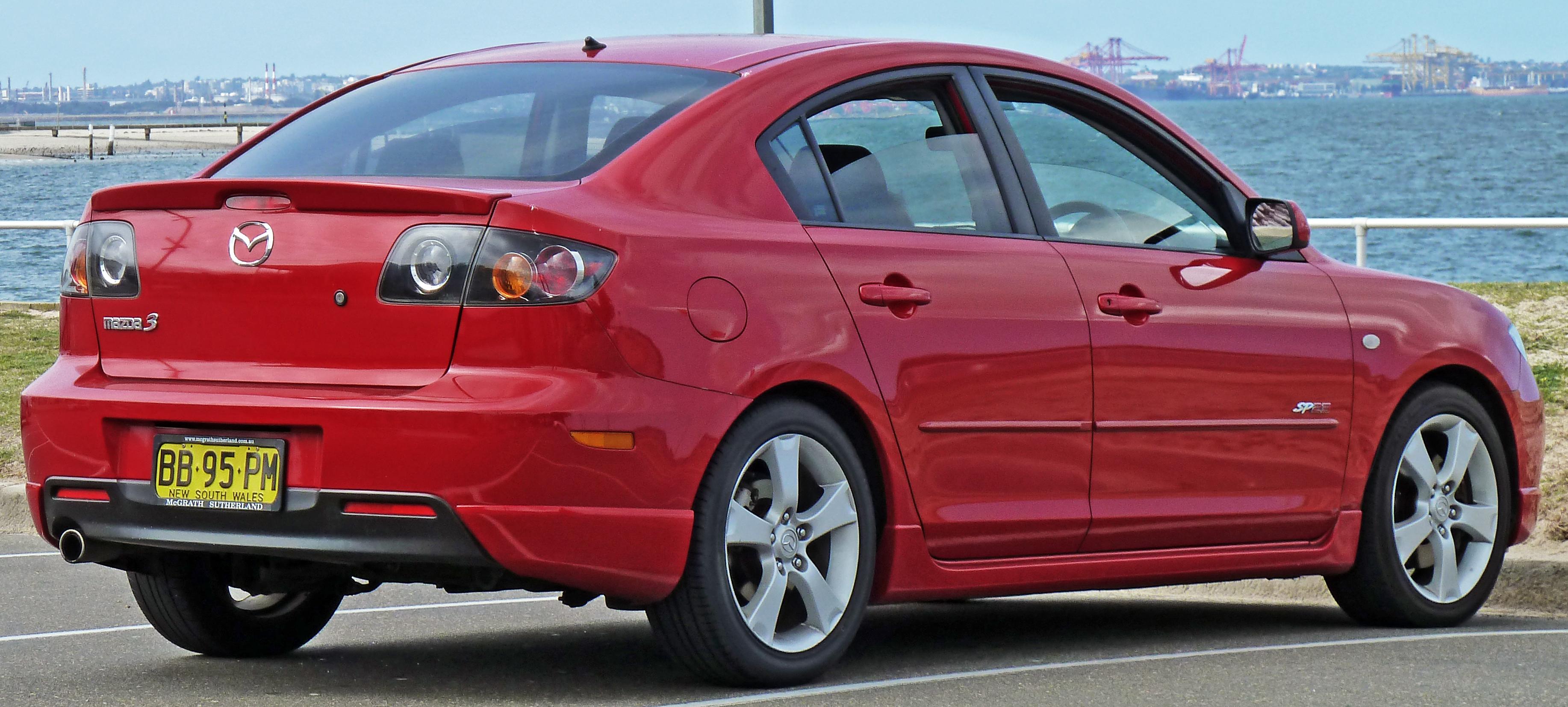 ... Mazda 3 Sedan 2004 ...