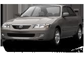 Mazda 626 sedan 2000