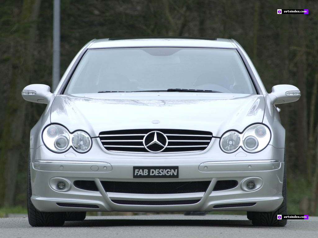 Mercedes CLK Coupe 2004