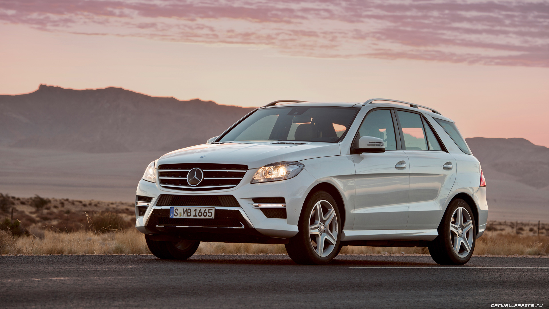 My perfect Mercedes ML class  3DTuning - probably the best car