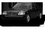 Mercedes S class Sedan 1991