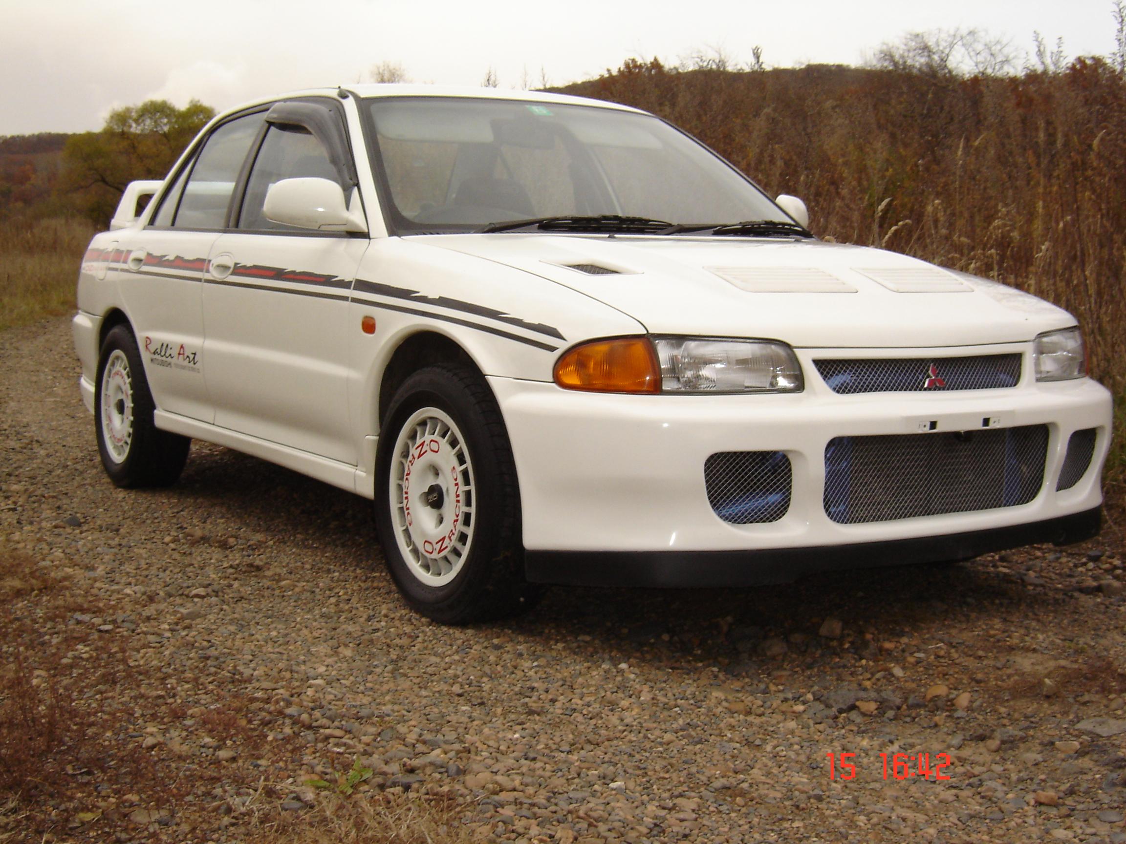 Тюнинг Mitsubishi Lancer Evo I sedan 1992, фото тюнинга