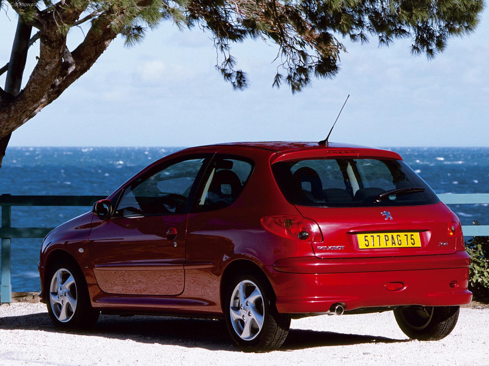 3dtuning Of Peugeot 206 3 Door Hatchback 1998 3dtuning Com