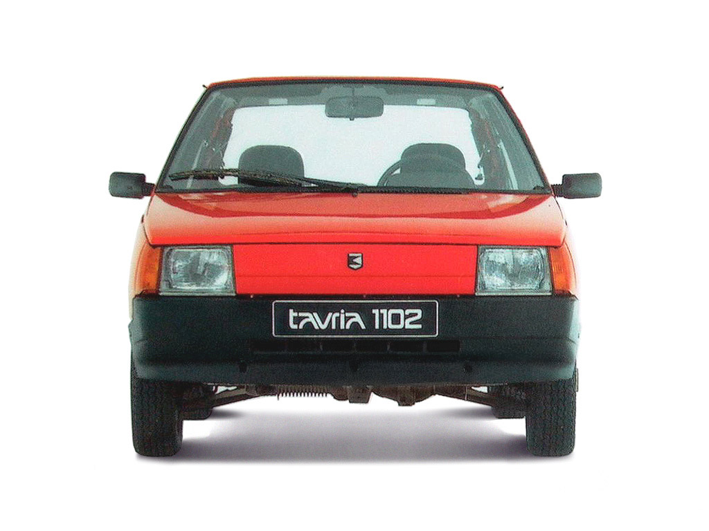 ... ZAZ 1102 Tavria 3 Door Hatchback 1990 ...