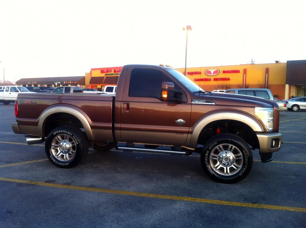 Custom Truck Wheels >> 3DTuning of Ford F-250 Regular Cab Truck 2013 3DTuning.com - unique on-line car configurator for ...