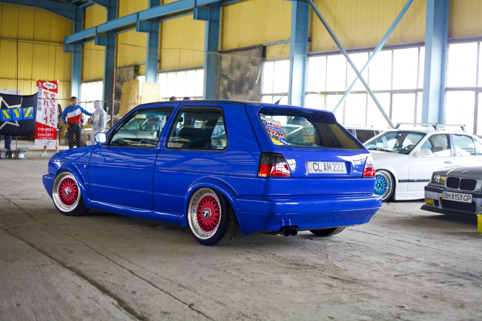 Topnotch My perfect Volkswagen Golf 2 Gti. 3DTuning - probably the best car PT81